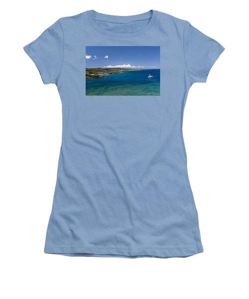 Honolua Bay Women's T-Shirt (Athletic Fit)