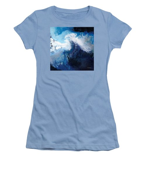 Hope In The Lord. Psalm 31 24 Women's T-Shirt (Junior Cut) by Mark Lawrence