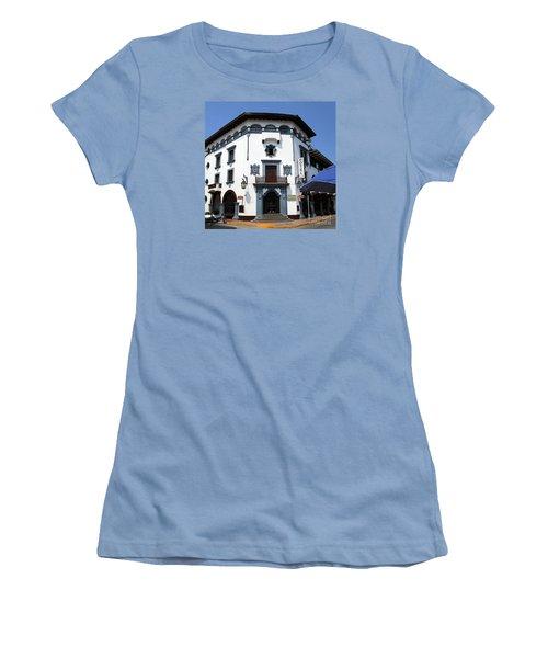 Hotel Colonial Women's T-Shirt (Junior Cut) by Randall Weidner