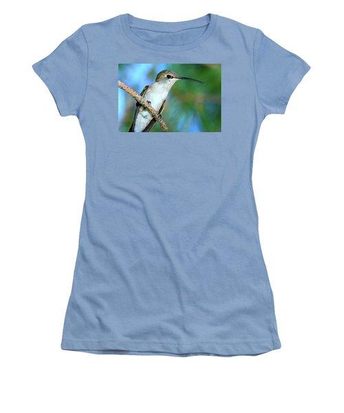 Hummingbird I Women's T-Shirt (Junior Cut) by Paul Marto