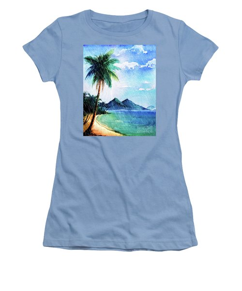 Hurricane Season Women's T-Shirt (Athletic Fit)