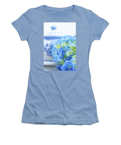 Hydrangea Memories Women's T-Shirt (Athletic Fit)