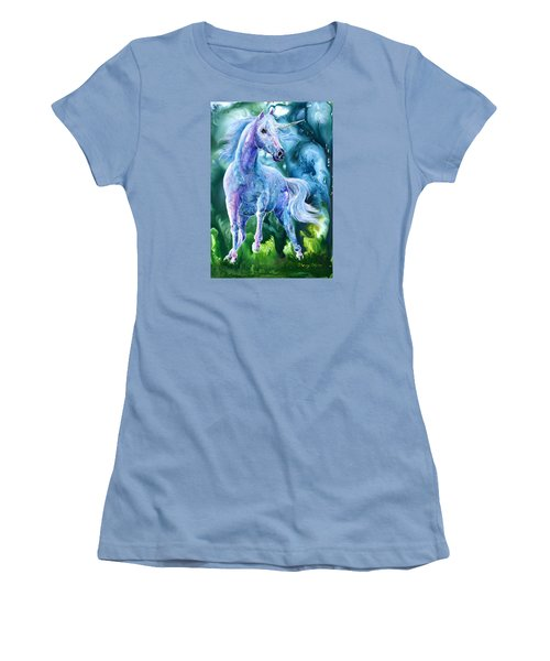 I Dream Of Unicorns Women's T-Shirt (Junior Cut) by Sherry Shipley