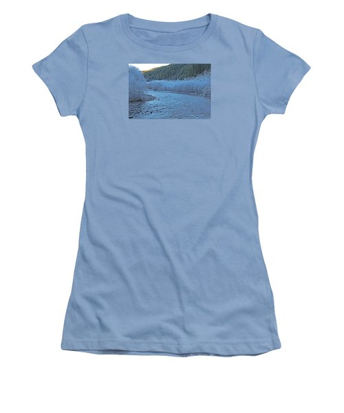Icy River Women's T-Shirt (Athletic Fit)