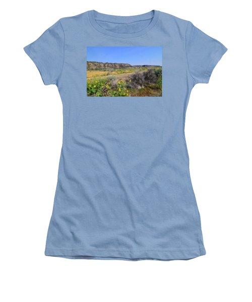 Women's T-Shirt (Junior Cut) featuring the photograph Idaho Landscape by Bonnie Bruno