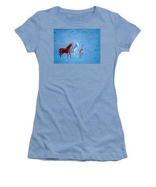 Il Futuro Ci Viene Incontro Women's T-Shirt (Athletic Fit)