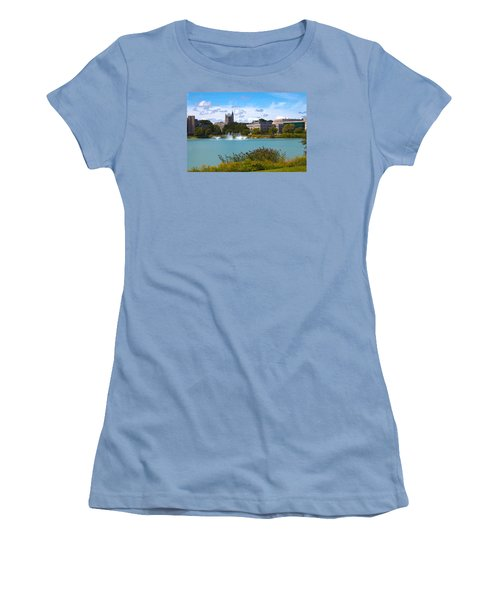 Women's T-Shirt (Junior Cut) featuring the photograph In The Afternoon by Milena Ilieva