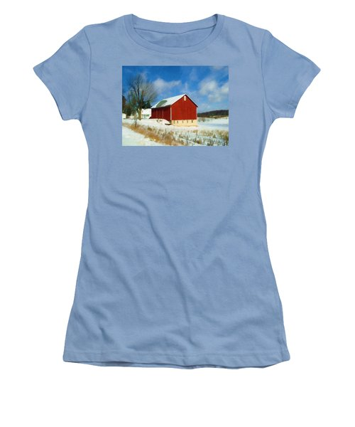 In The Throes Of Winter Women's T-Shirt (Junior Cut)