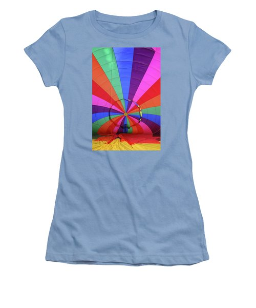 Women's T-Shirt (Junior Cut) featuring the photograph Inside Out by Marie Leslie
