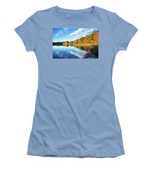 Women's T-Shirt (Junior Cut) featuring the photograph Inspiration by Greg Fortier
