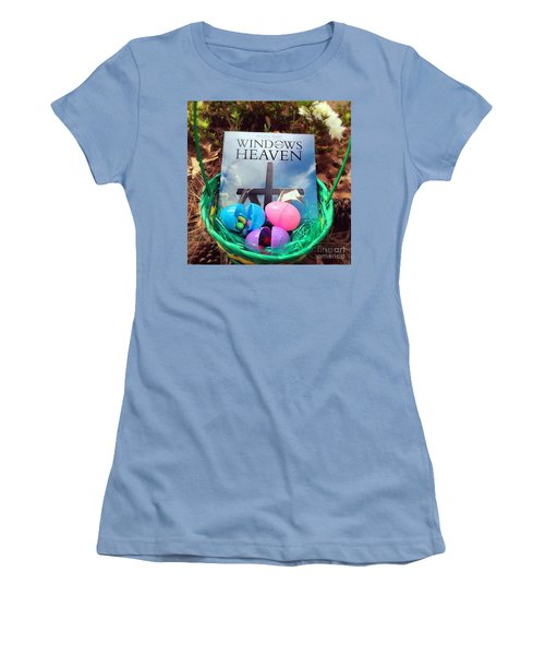 lnspirational Book Windows From Heaven Women's T-Shirt (Athletic Fit)