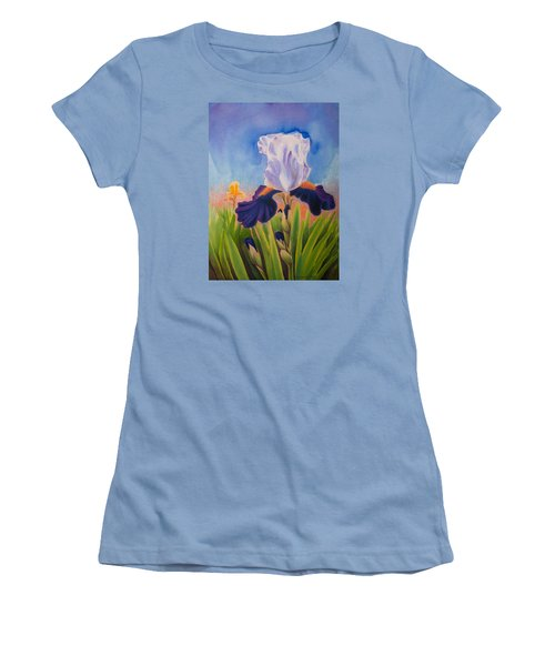 Iris Morning Women's T-Shirt (Athletic Fit)