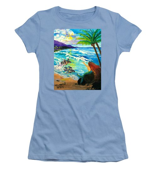 Island Sisters Women's T-Shirt (Athletic Fit)