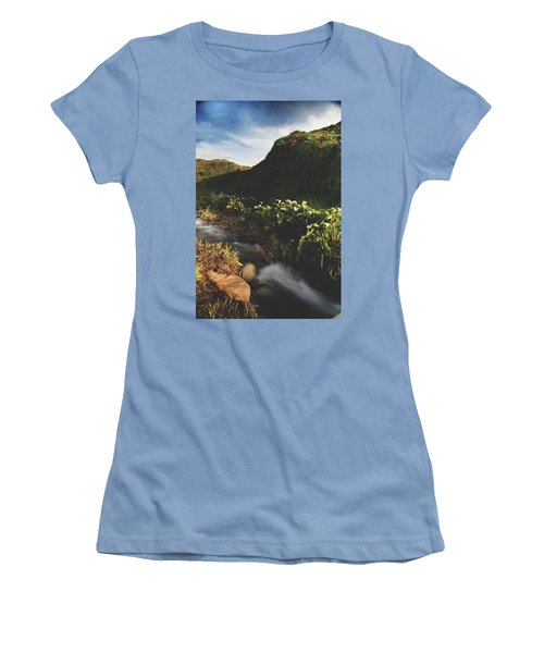 It Was A Hard Winter Women's T-Shirt (Junior Cut) by Laurie Search