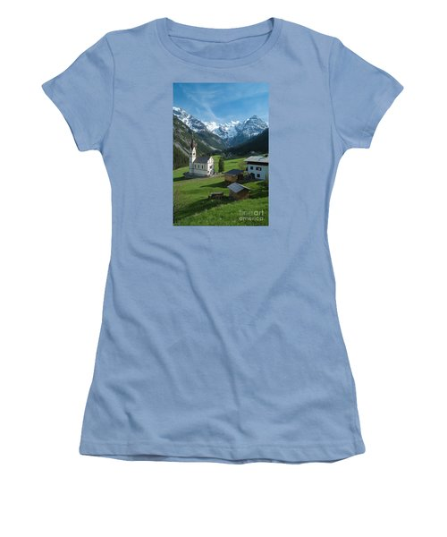 Italian Alps Hidden Treasure Women's T-Shirt (Athletic Fit)