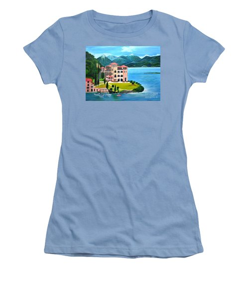 Italian Landscape-casino Royale Women's T-Shirt (Athletic Fit)