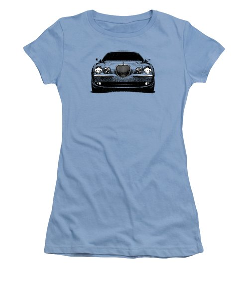 Jaguar S Type Women's T-Shirt (Junior Cut) by Mark Rogan