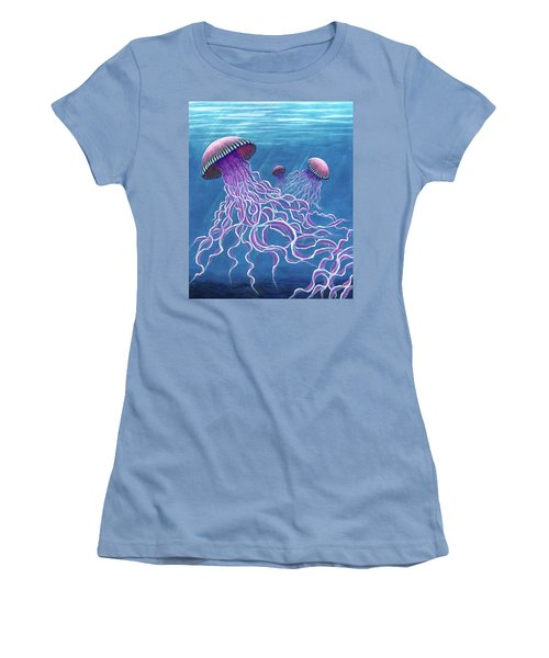 Jellies 2 Women's T-Shirt (Junior Cut) by Rebecca Parker