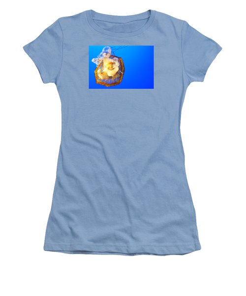Jelly Fish Women's T-Shirt (Athletic Fit)