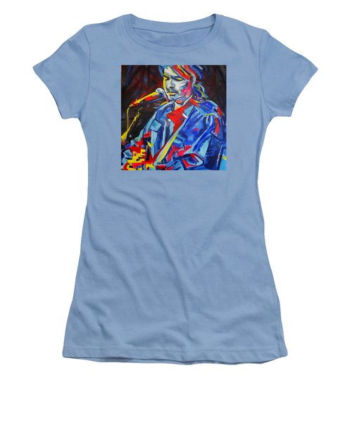 John Prine #3 Women's T-Shirt (Athletic Fit)