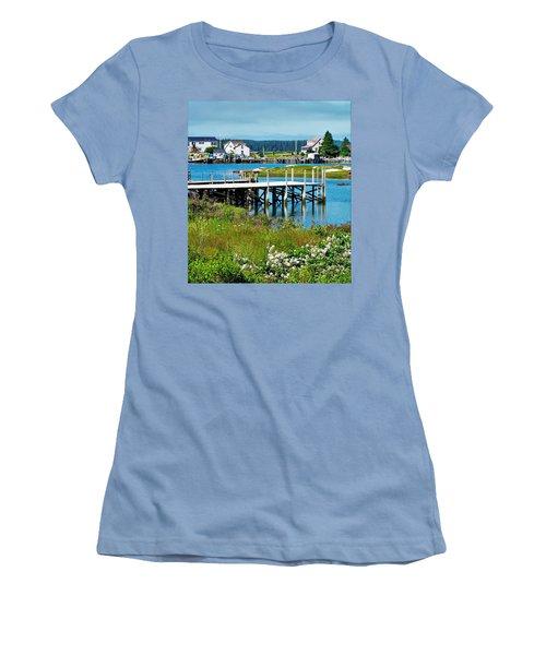 Jonesport Women's T-Shirt (Athletic Fit)