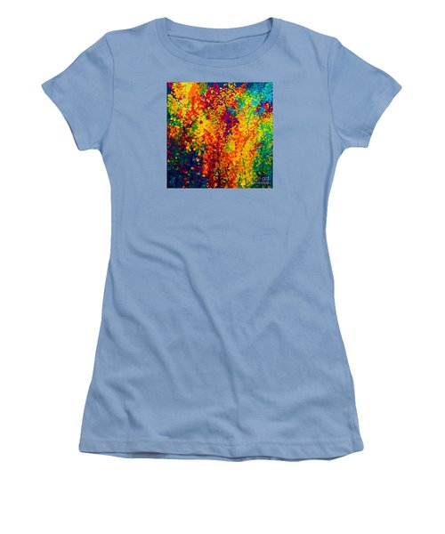 Joseph's Coat Trees Women's T-Shirt (Junior Cut) by Eloise Schneider