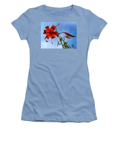 July Women's T-Shirt (Junior Cut) by Joy Nichols