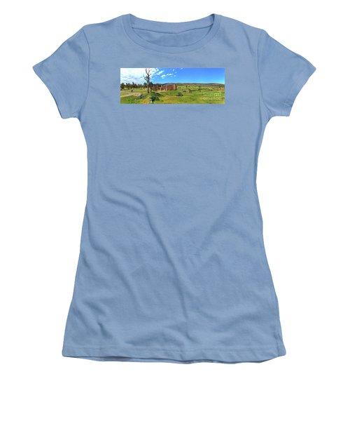 Kanyaka Homestead Ruins Women's T-Shirt (Junior Cut) by Bill Robinson