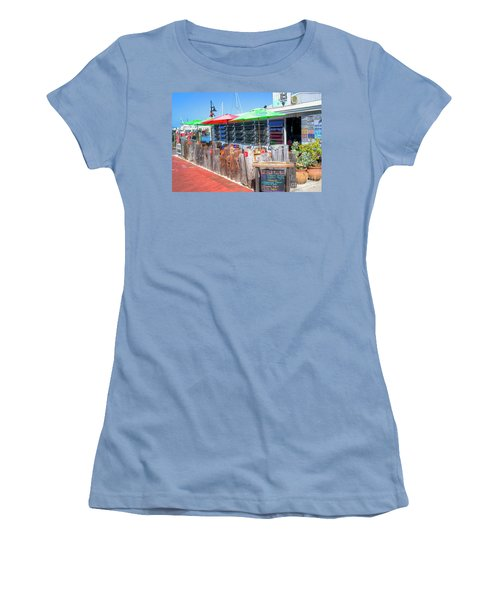 Key West Raw Bar Women's T-Shirt (Athletic Fit)