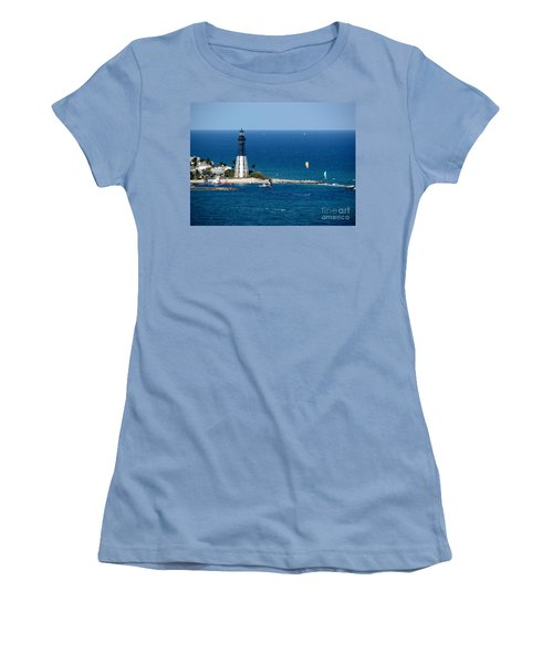 Kitesurfing And More At Pompano Women's T-Shirt (Athletic Fit)