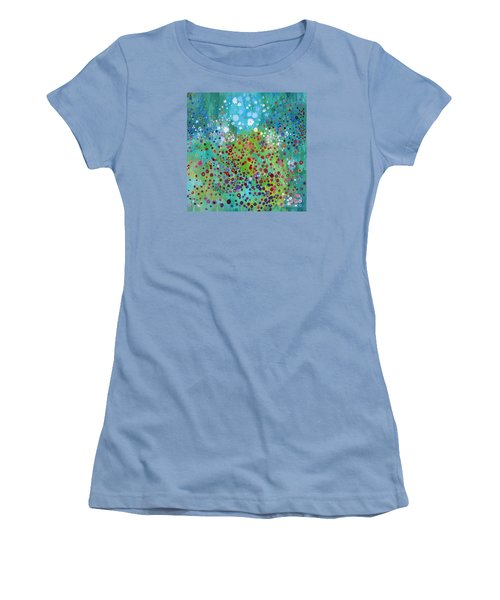 Klimt's Garden Women's T-Shirt (Junior Cut) by Stacey Zimmerman