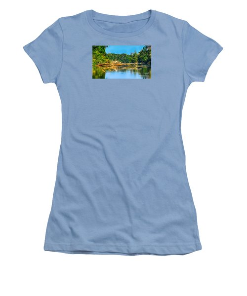 Lake In A Jungle Women's T-Shirt (Athletic Fit)