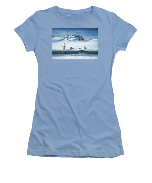 Lake Michigan Swans Women's T-Shirt (Athletic Fit)