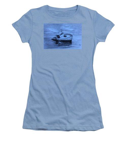 Last Voyage  Women's T-Shirt (Athletic Fit)
