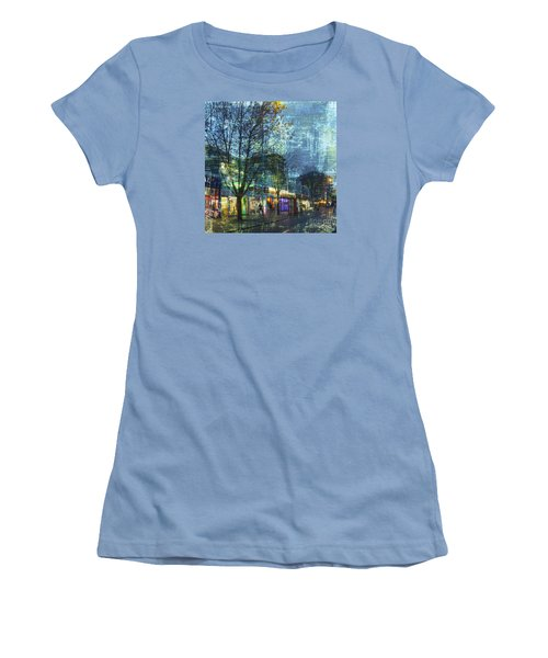 Women's T-Shirt (Athletic Fit) featuring the photograph Late Afternoon In Autumn by LemonArt Photography