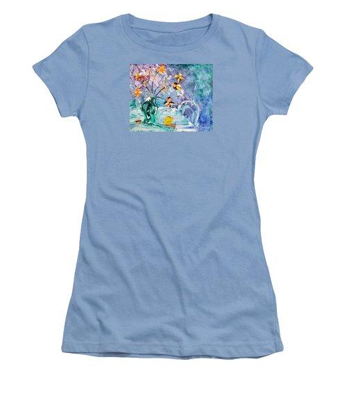 Lemon For Tea Women's T-Shirt (Athletic Fit)