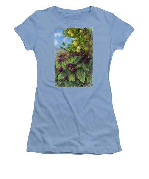Lemons And Berries Women's T-Shirt (Athletic Fit)