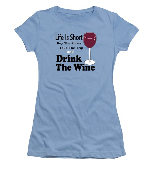 Life Is Short Women's T-Shirt (Athletic Fit)