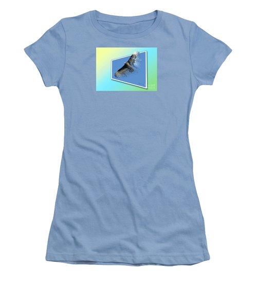 Life's Impermanence  Women's T-Shirt (Junior Cut) by Mariarosa Rockefeller