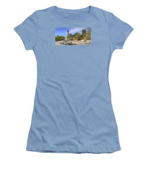 Light Behind The Stump Women's T-Shirt (Junior Cut) by Sean Allen