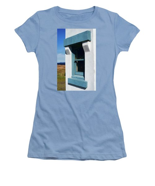Lighthouse Window Women's T-Shirt (Athletic Fit)