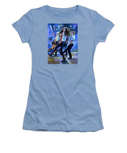 Line Dancing Fun Women's T-Shirt (Junior Cut)