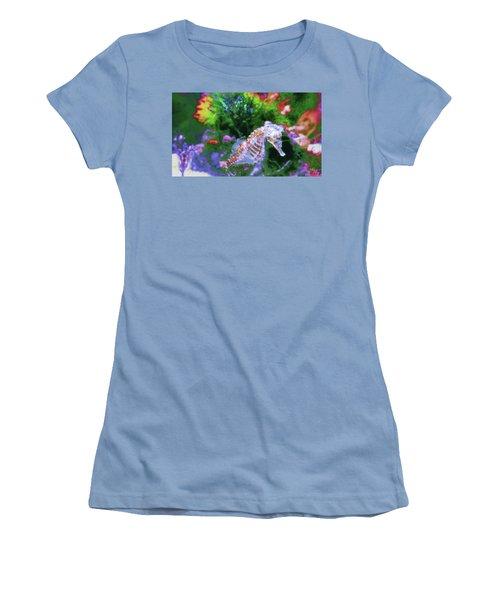 Little Sea Horse Women's T-Shirt (Athletic Fit)