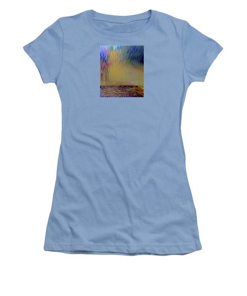 Women's T-Shirt (Athletic Fit) featuring the photograph Looks Like Rain by Nareeta Martin