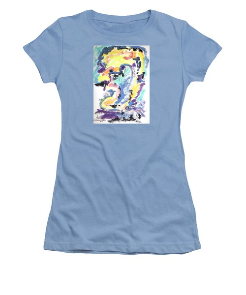 Loss Of Consciousness Women's T-Shirt (Junior Cut) by Esther Newman-Cohen