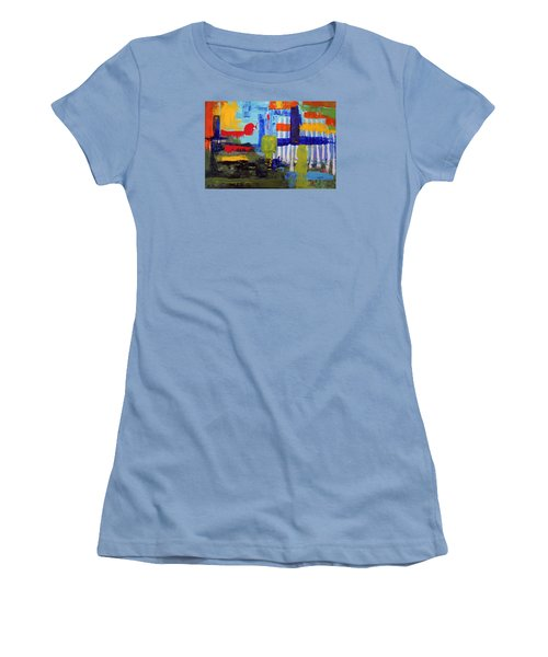 Lost In Forest Women's T-Shirt (Athletic Fit)