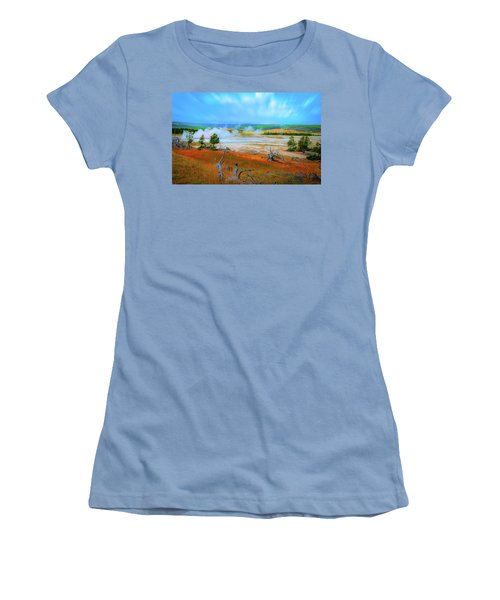 Lower Basin Women's T-Shirt (Athletic Fit)
