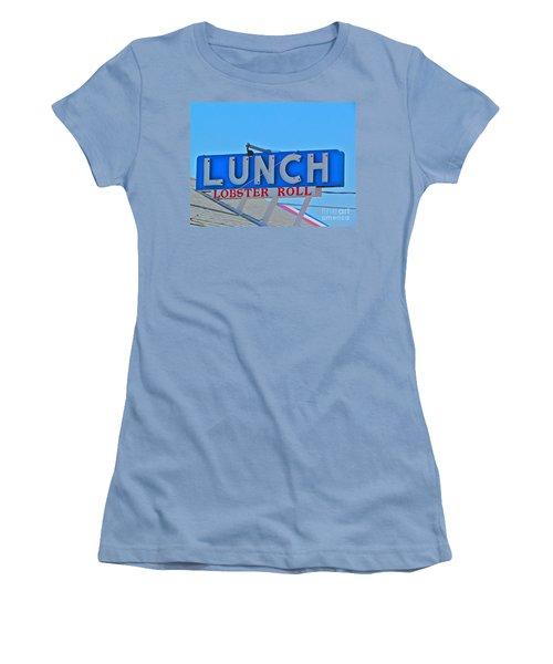 Lunch Women's T-Shirt (Junior Cut) by Beth Saffer