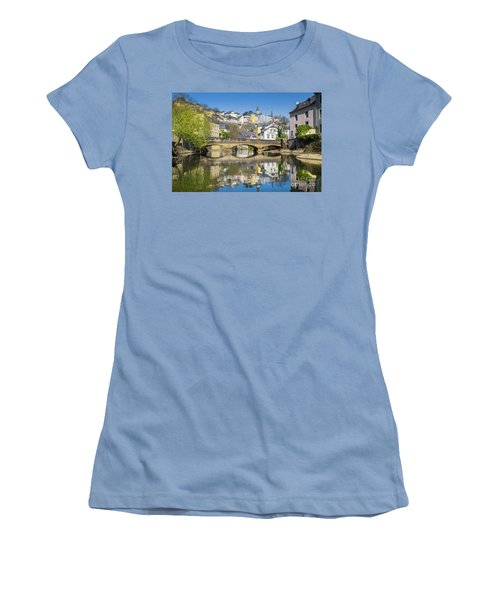 Luxembourg City Women's T-Shirt (Junior Cut) by JR Photography