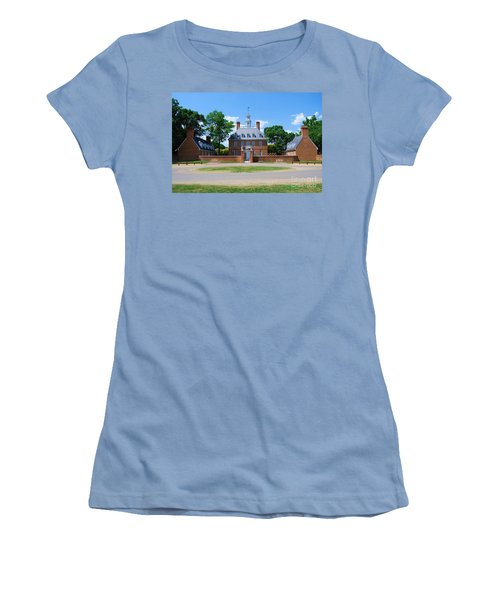 Women's T-Shirt (Junior Cut) featuring the photograph Mansion by Eric Liller